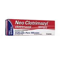 Neo Clotrimazyl 10mg/g, bisnaga com 50g de creme de uso dermatológico
