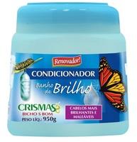 Condicionador Banho de Brilho Crismas 950g