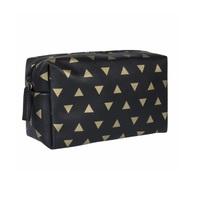 triangulo, preto e dourado