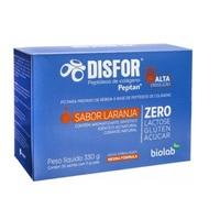 caixa com 30 sachês de pó para solução oral, sabor laranja