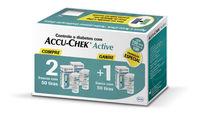 Tiras Medidoras de Glicose Accu-Chek Active 50 unidades, leve 3 pague 2
