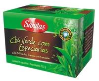 especiarias, 15 sachês