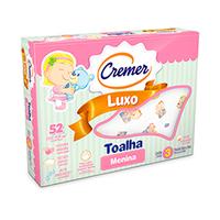 Toalha Cremer Luxo Estampa Menina 3un.