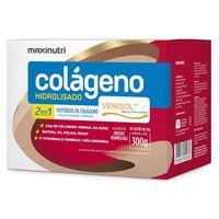 Colágeno Hidrolisado Verisol 300g, 30 sachês de 10g, sabor frutas vermelhas