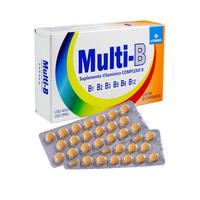 Multi B Complexo B caixa com 60 comprimidos