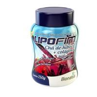 Chá de Hibisco e Colágeno Bionatus Lipofim morango, 150g