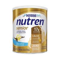 Suplemento Alimentar Nutren Senior baunilha, lata, 1 unidade com 370g