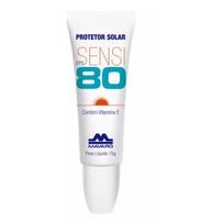 Protetor Solar Labial Mavaro Sensi FPS 80 com 15g