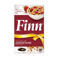 Adoçante Finn Aspartame sachê, 100 unidades