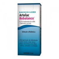 Solução Oftálmica Artelac Rebalance 10mL