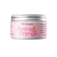 Hidratante Orgânica Oil Cream peônia e laranja com 250g