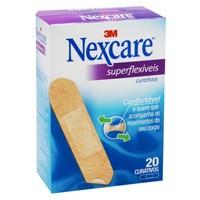 Curativo Nexcare Superflexível Tradicional, 20 Unidades