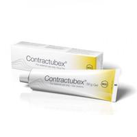 Contractubex 100mg/g + 10mg/g + 0,4mg/g, caixa com 1 bisnaga com 50g de gel de uso dermatológico