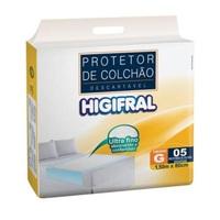 Protetor de Colchão Descartável Higifral G, 5 unidades