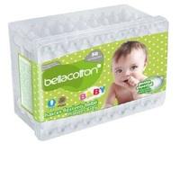 Hastes Flexíveis Bellacotton Baby 50 unidades