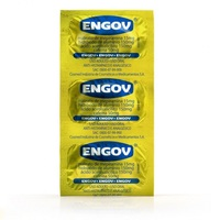 Engov 15mg + 150mg +150mg + 50mg, blíster com 6 comprimidos