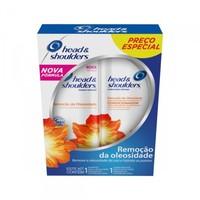 Kit Head & Shoulders Remoção da Oleosidade shampoo com 200mL + condicionador com 200mL