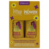 Kit Embelleze Vitay Linda Radiante shampoo, 300mL + condicionador, 300mL