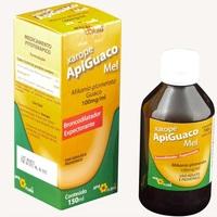 Apiguaco Mel Xarope 100mg/mL, caixa com 1 frasco com 150mL de xarope