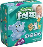 Fralda Turminha Feliz G, pacote com 18 unidades