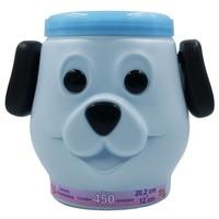 cachorro, azul, 450 unidades
