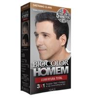 Tonalizante Biocolor Homem Cobertura Total castanho claro
