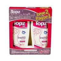 Sabonete Íntimo Topz suave, 200mL, leve 2 pague 1