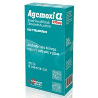 Agemoxi CL caixa com 10 comprimidos com 250mg