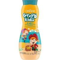 Shampoo 2 em 1 Origem Grupy Kids Xô Embaraço 500mL