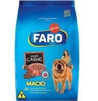 Ração para Cães Faro Macio filhote, carne com 900g