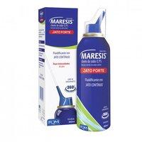 Frasco spray com jato forte com 150mL de solução de uso nasal