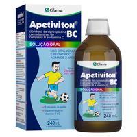 Apetiviton BC frasco com 240mL de solução de uso oral + copo medidor