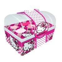Maquiagem Infantil View Cosméticos baú, Hello Kitty