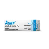 Acnen 50mg/g, caixa com 1 bisnaga com 20g de gel de uso dermatológico