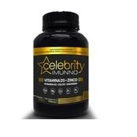 Vitamina C + Zinco Celebrity Imunno 400mg, frasco com 30 cápsulas