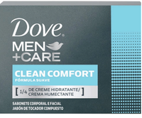 Sabonete Masculino Dove Men + Care clean comfort, barra com 90g