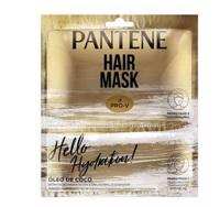 Máscara Capilar Pantene Pro-V Hello Hydratation! Óleo de Coco sachê, 30mL + touca