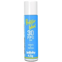 Protetor Labial Isababy FPS 30, 4,5g