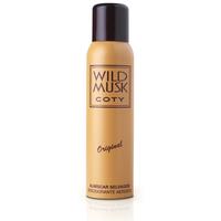 Desodorante Coty Wild Musk aerosol, 132mL