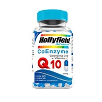 Coenzima Q10 + Vitamina C Hollyfield 1000mg, frasco com 90 cápsulas