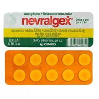 Nevralgex 300mg + 50mg + 35mg, blíster com 10 comprimidos