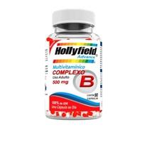Complexo B Hollyfield Advance 500mg, frasco com 90 cápsulas