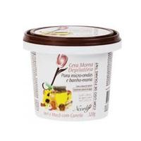 Cera Depilatória Hidrossolúvel para Micro-Ondas Neorly morna, mel, maçã e canela, 160g