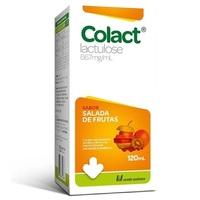 Colact 667mg/mL, caixa com 1 frasco com 120mL de xarope, sabor salada de frutas