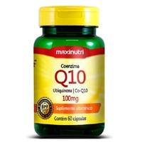 Coenzima Q10 Maxinutri 100mg, frasco com 60 cápsulas