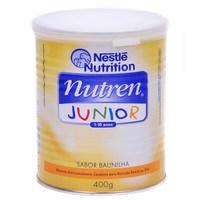 Suplemento Alimentar Infantil Nutren Junior baunilha, lata com 400g