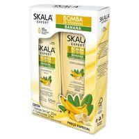 Kit Skala Bomba de Vitaminas com Banana shampoo, 325mL + condicionador, 325mL