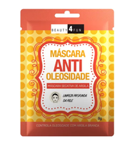 Máscara Secativa de Argila Beauty 4 Fun Antioleosidade 1 unidade