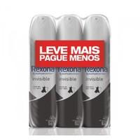 invisible, aerosol, 150mL,  3 unidades