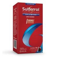 Sulferrol 250mg, caixa com 50 drágeas